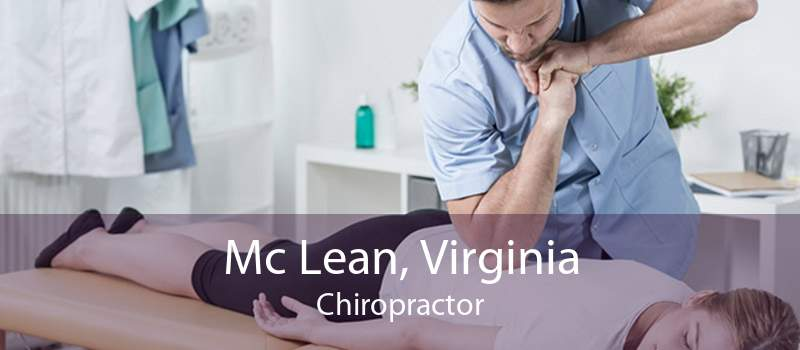 Mc Lean, Virginia Chiropractor